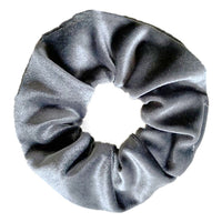 Charcoal - Velvet Scrunchie