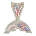 "Pastel Confetti Stars - 2.5"" Mermaid Tail w/ Hole"