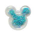 "Blue Confetti Stars - 2.5"" Mouse w/ Hole"