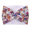 Fall Floral - Liverpool Bow Headwrap
