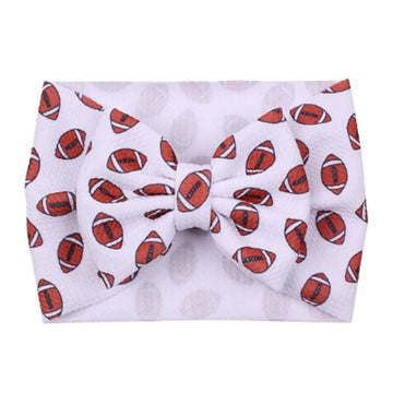 Footballs - Liverpool Bow Headwrap