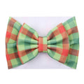 Christmas Plaid - Liverpool Bow Headwrap