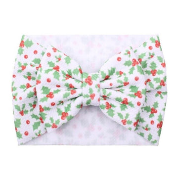 Mistletoe - Liverpool Bow Headwrap