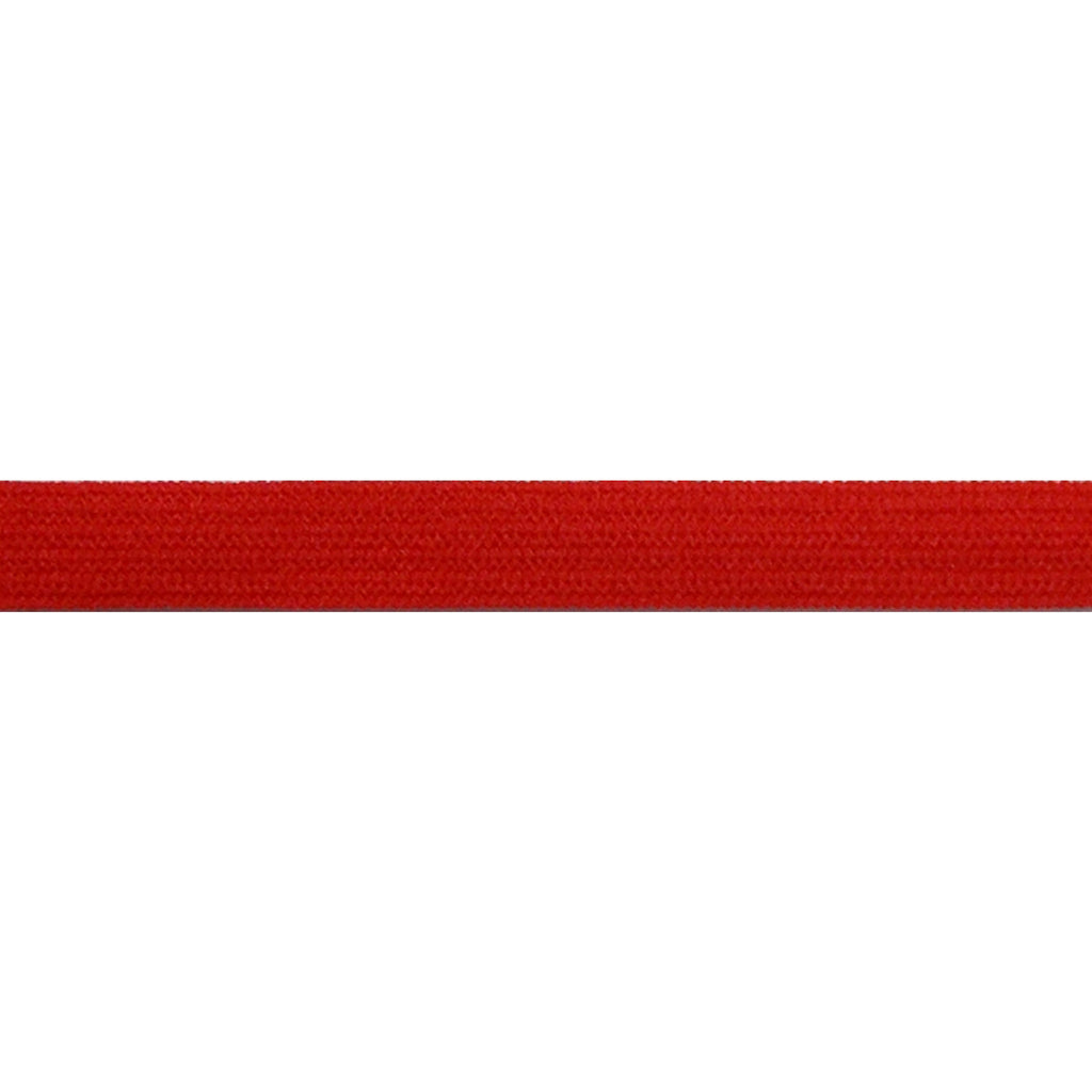 "Red - 1/4"" Soft Skinny Elastic"