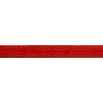 "5 Yards - Red - 1/4"" Soft Skinny Elastic"