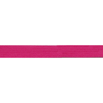 "5 Yards - Hot Pink - 1/4"" Soft Skinny Elastic"