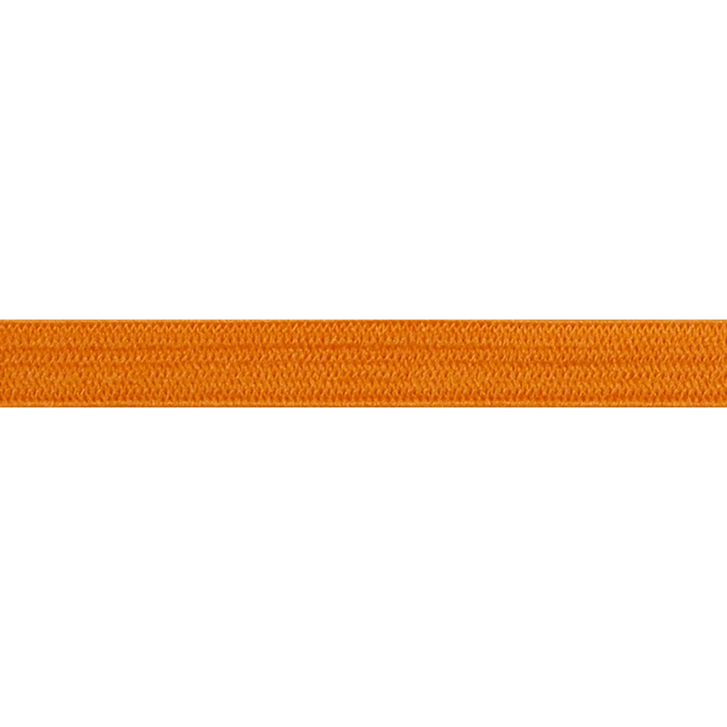 "Orange - 1/4"" Soft Skinny Elastic"