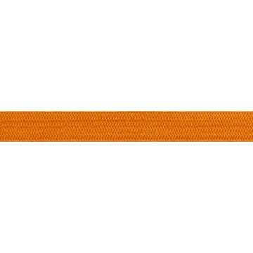"5 Yards - Orange - 1/4"" Soft Skinny Elastic"