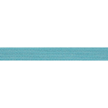 "5 Yards - Aqua - 1/4"" Soft Skinny Elastic"