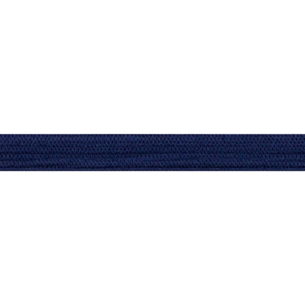 "Navy Blue - 1/4"" Soft Skinny Elastic"