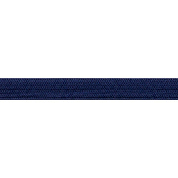 "5 Yards - Navy Blue - 1/4"" Soft Skinny Elastic"