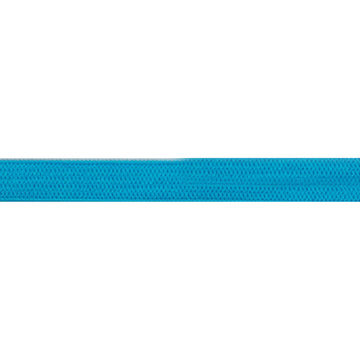 "5 Yards - Blue - 1/4"" Soft Skinny Elastic"