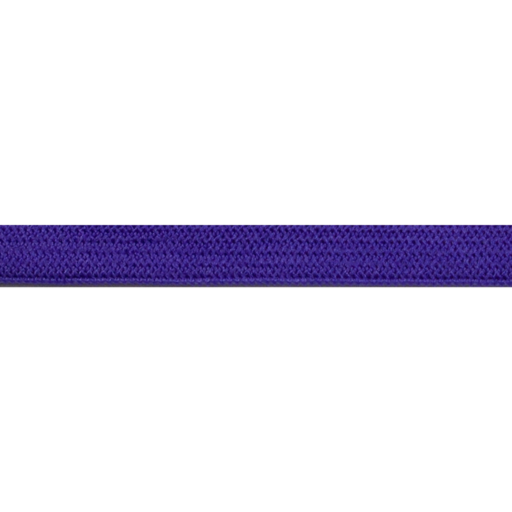 "Purple - 1/4"" Soft Skinny Elastic"