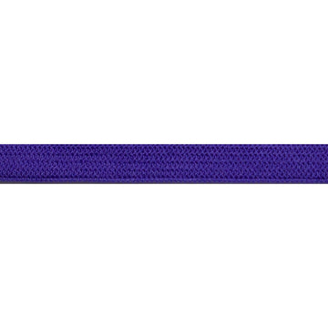 "5 Yards - Purple - 1/4"" Soft Skinny Elastic"
