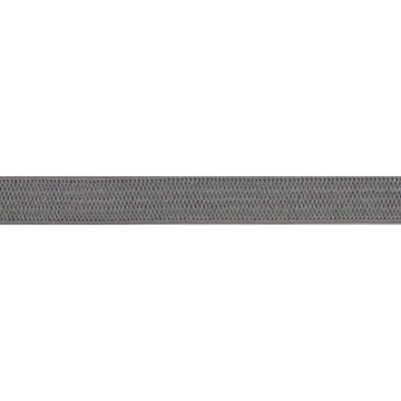 "5 Yards - Gray - 1/4"" Soft Skinny Elastic"