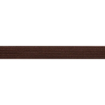 "5 Yards - Brown - 1/4"" Soft Skinny Elastic"