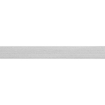 "5 Yards - White - 1/4"" Soft Skinny Elastic"