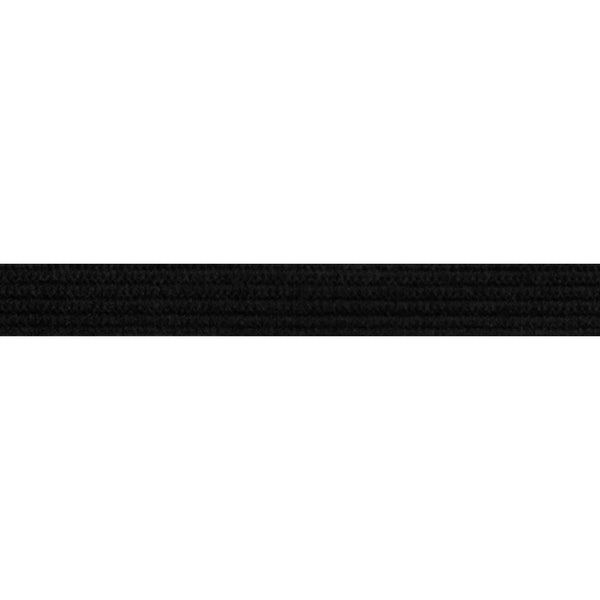 "Black - 1/4"" Soft Skinny Elastic"