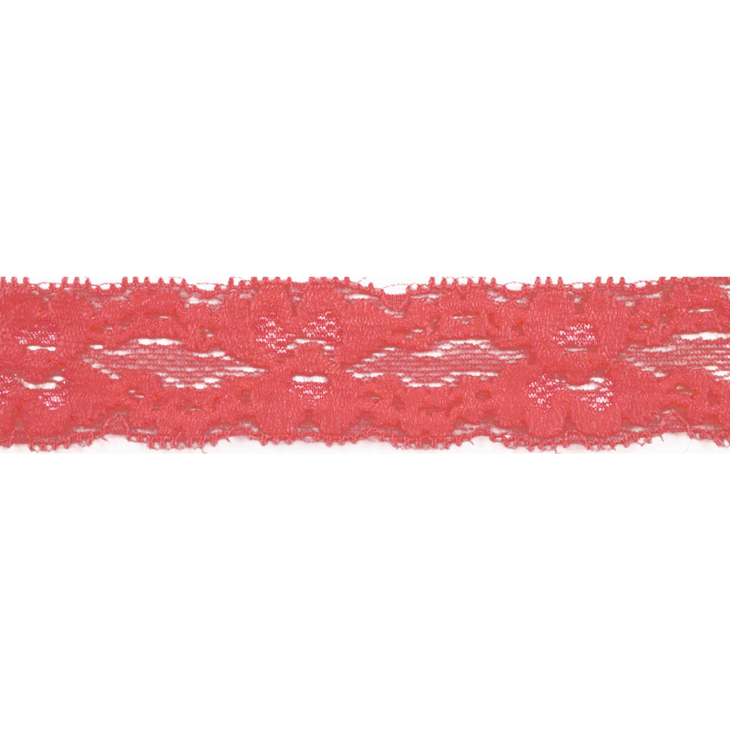 "Coral - 1"" Stretch Lace Elastic"