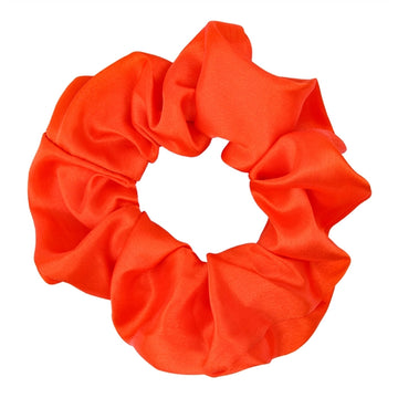 Burnt Orange - Satin Scrunchie