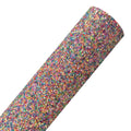 Candy Shoppe - Chunky Glitter Fabric Sheet