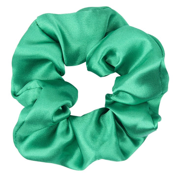Emerald Green - Satin Scrunchie