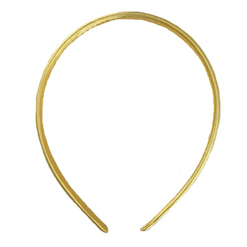 Gold - 10mm Satin Lined Headband