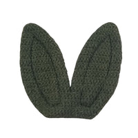 "Olive - 2"" Fabric Bunny Ears"