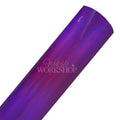 Metallic Purple - Solid Faux Leather Sheet