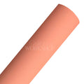 Coral Peach - Glow in the Dark Faux Leather Sheet