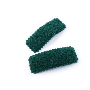 "Emerald - 3"" Sherpa Lined Snap Clip"