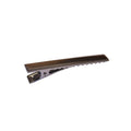 "2.25"" Charcoal Alligator Clip with Teeth"