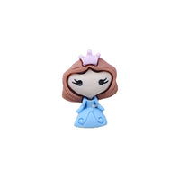 "Small Princess #2 - 7/8"" Resin Applique"