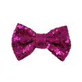 "Fuchsia - 4"" Sequin Bow"