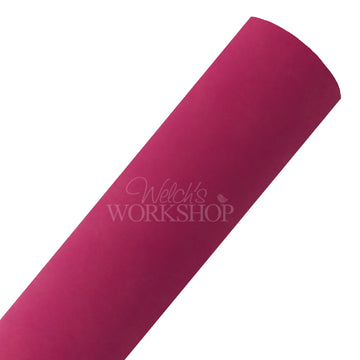 Hot Pink - Faux Suede Fabric Sheet