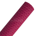 Hot Pink - Cable Knit Faux Leather Sheet