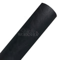 Black - Solid Faux Weathered Leather Sheet