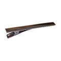 "3"" Charcoal Alligator Clip with Teeth"