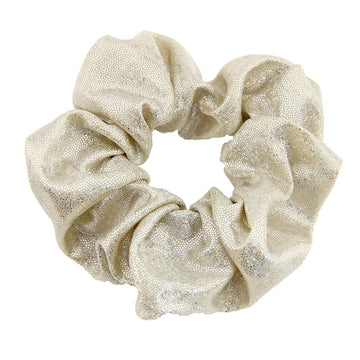 Light Gold Shimmer - Metallic Scrunchie