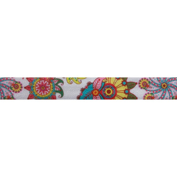 "Gypsy - 5/8"" Printed Fold Over Elastic"