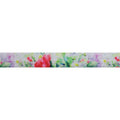 "Secret Garden - 5/8"" Printed Fold Over Elastic"