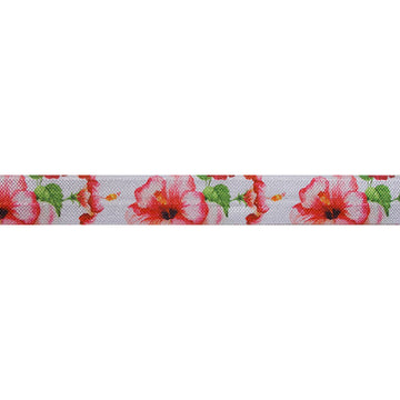 "Tropic - 5/8"" Printed Fold Over Elastic"