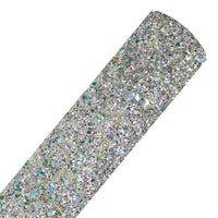 Heavy Metal - Chunky Glitter Fabric Sheet