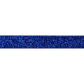 "Royal Blue - 5/8"" Glitter Elastic"