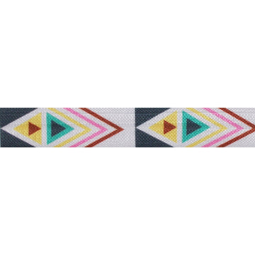 "Aztec - 5/8"" Printed Fold Over Elastic"
