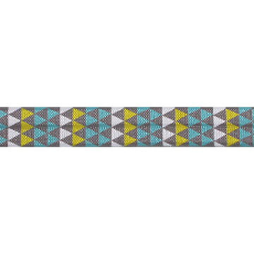 "Vintage Aztec - 5/8"" Printed Fold Over Elastic"