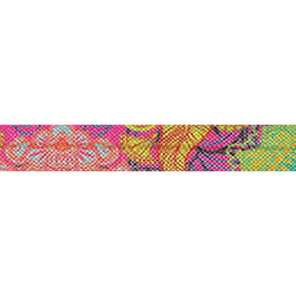 "Iona - 5/8"" Printed Fold Over Elastic"