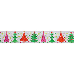 "'Tis the Season - 5/8"" Printed Fold Over Elastic"