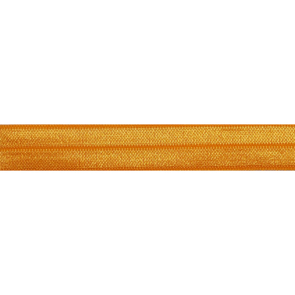 "Pumpkin - 5/8"" Solid Fold Over Elastic"