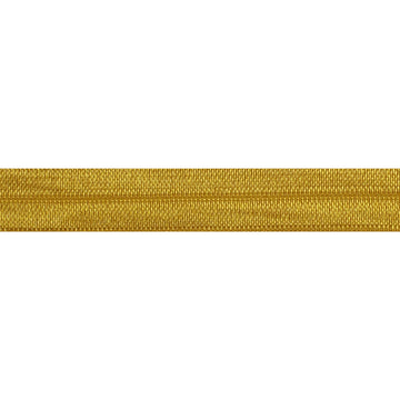 "5 Yards - Mustard - 5/8"" Solid Fold Over Elastic"